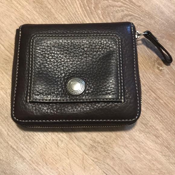 Coach Handbags - Coach Soft Pebble Leather Zip Around Wallets